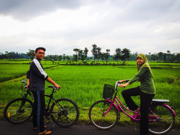 Adhit and Karisma on a bike ride around Bondowoso. This is my all time favorite photo that I have taken in Indonesia.